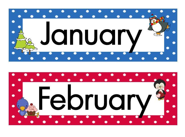 Months of the year clipart » Clipart Portal.