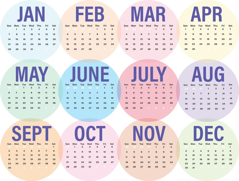 Months png 7 » PNG Image.