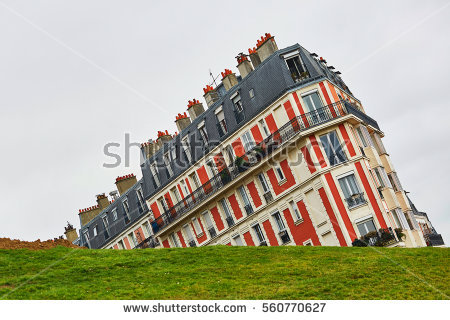 Montmartre Hill Stock Photos, Royalty.