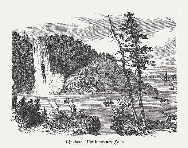 Montmorency Falls Clip Art, Vector Images & Illustrations.