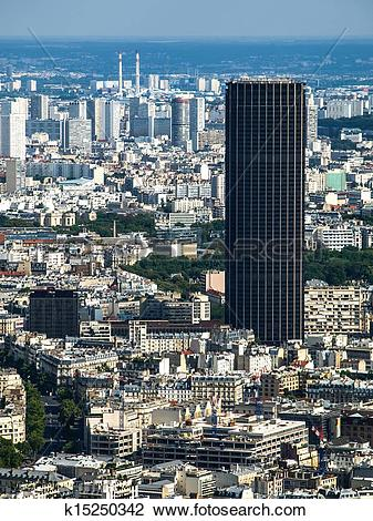 Stock Photo of Montparnasse Tower k15250342.