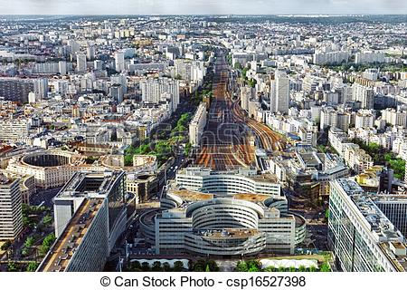Stock Photographs of Gare Montparnasse(Railway Station)view from.