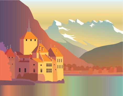 Montreux Clip Art, Vector Images & Illustrations.