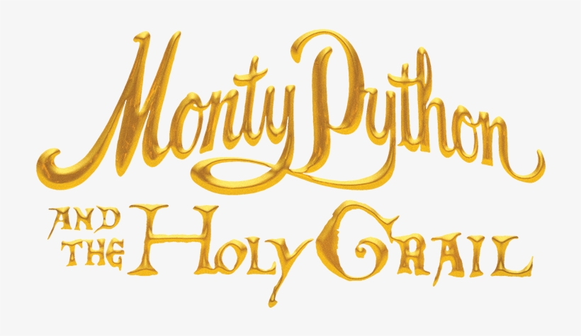 Monty Python And The Holy Grail Logo.