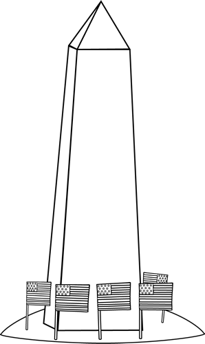 Washington Monument Clipart.
