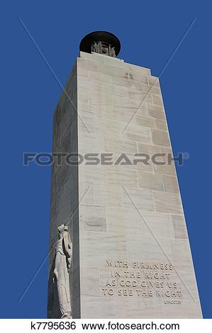 Stock Images of eternal light peace monument k7795636.