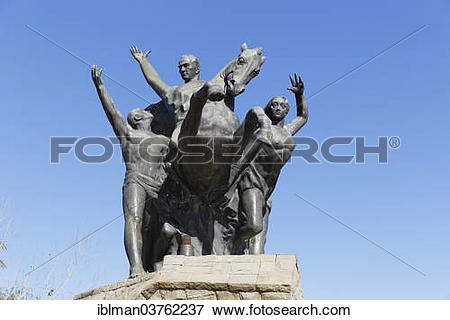 "Picture of ""Ataturk Monument by Hueseyin Gezer, 1965, Cumhuriyet."