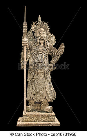 Stock Illustrations of China dolls, statues church door..