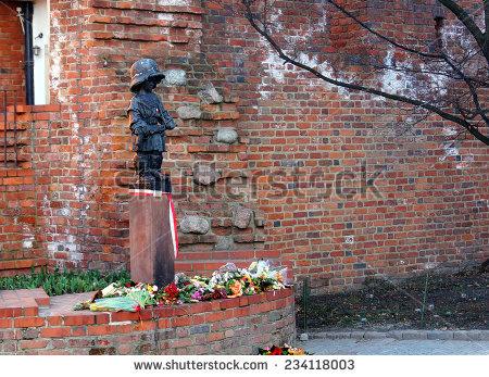 Warsaw Memorial Stock Photos, Royalty.