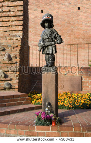 Poland Monument Stock Images, Royalty.