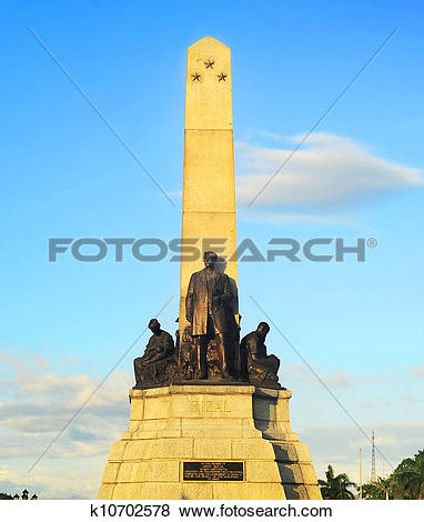 Pictures of Rizal monument k10702578.