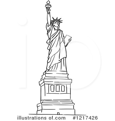 Statue Of Liberty Clip Art & Statue Of Liberty Clip Art Clip Art.