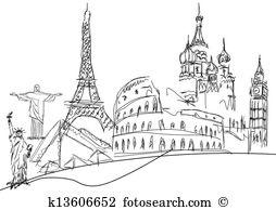 Landmark monuments Clip Art EPS Images. 8,691 landmark monuments.