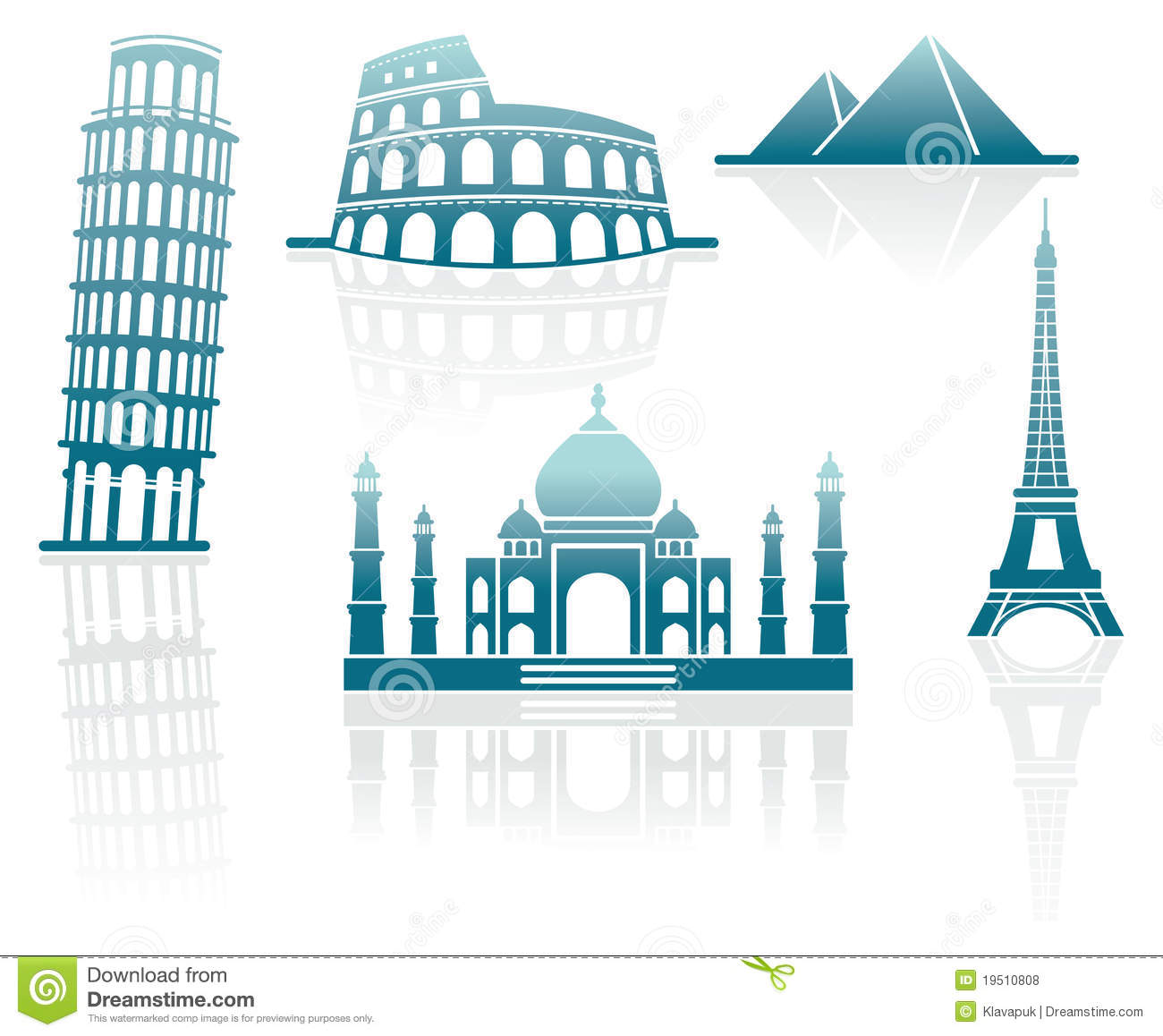 Free Clip Art of Monuments.