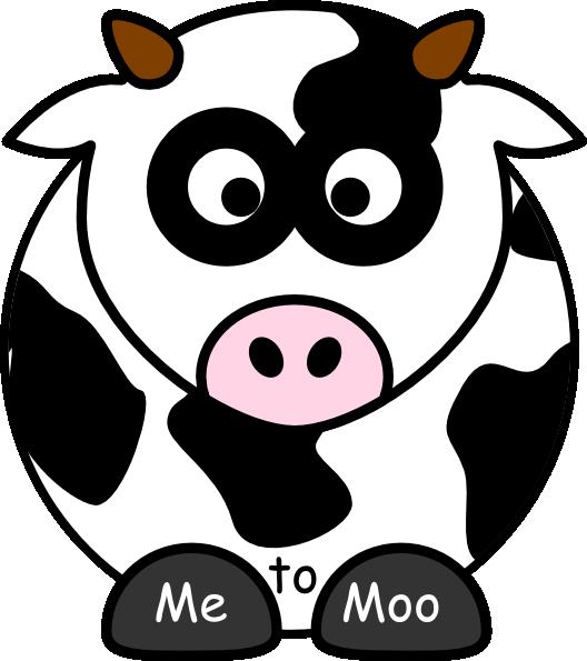 Me To Moo Clip Art at Clker.com.