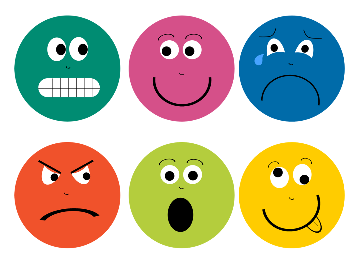 Happy Mood Face Clipart.