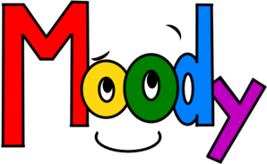 Moody clipart.