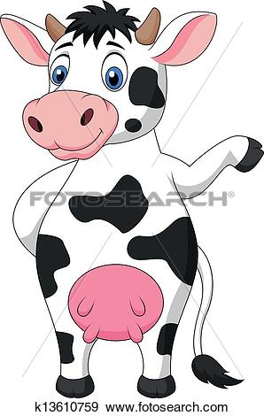 Moo cow Clip Art and Illustration. 409 moo cow clipart vector EPS.
