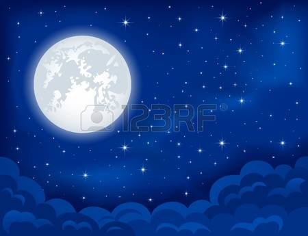 2,331 Full Moon Clouds Cliparts, Stock Vector And Royalty Free.