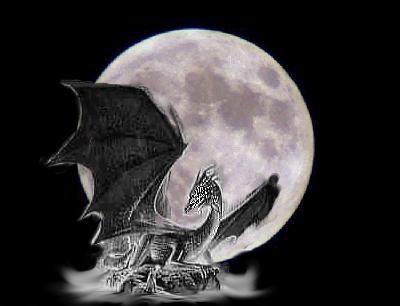 white moon dragon.