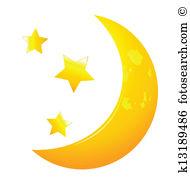 Moon stars Clip Art EPS Images. 22,289 moon stars clipart vector.