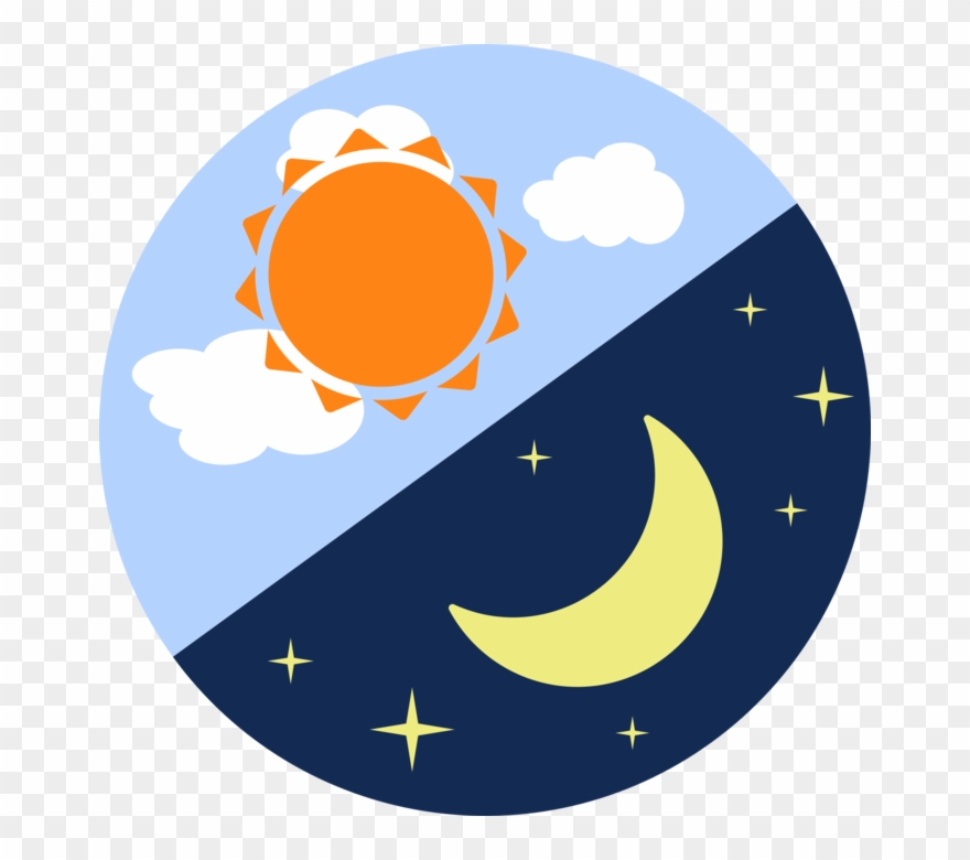Learning About The Moon And The Sun Clipart (#2623404.