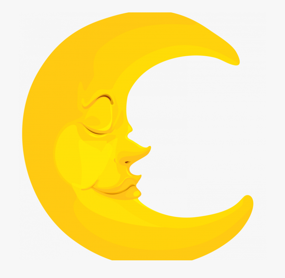 Moon Cartoon Png.