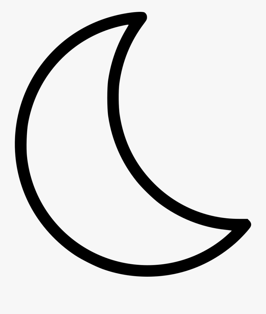 Transparent Moon Clipart Black And White.