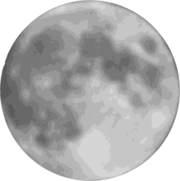 Similiar Full Moon Clip Art Black And White Keywords.