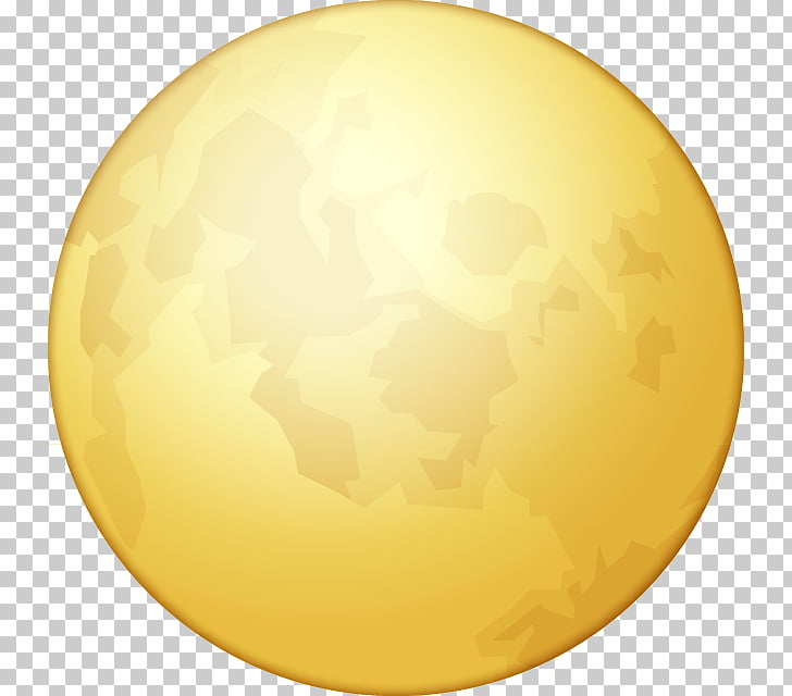 Full moon Emoji Lunar phase, moon PNG clipart.