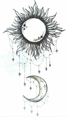 Cool Sun Drawings Tumblr Sun and moon this will be on.