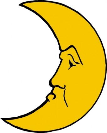 Free Moon Clipart.