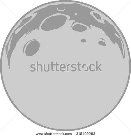 Moon Craters Stock Images, Royalty.