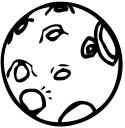 Crater clipart.