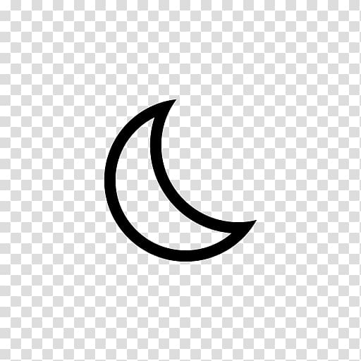Crescent Lunar phase Solar eclipse Outline of the Moon, moon.