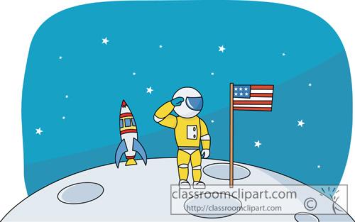 Moon Landing Clipart image information.
