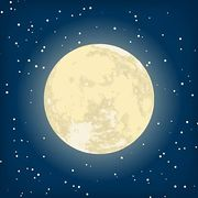 Moonlight Clip Art.