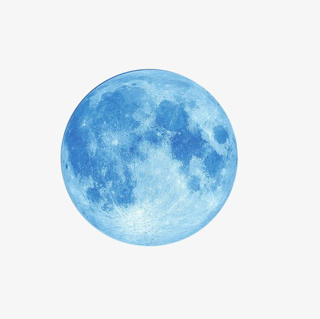 Light Blue Moon PNG, Clipart, Abstract, Astronomy.