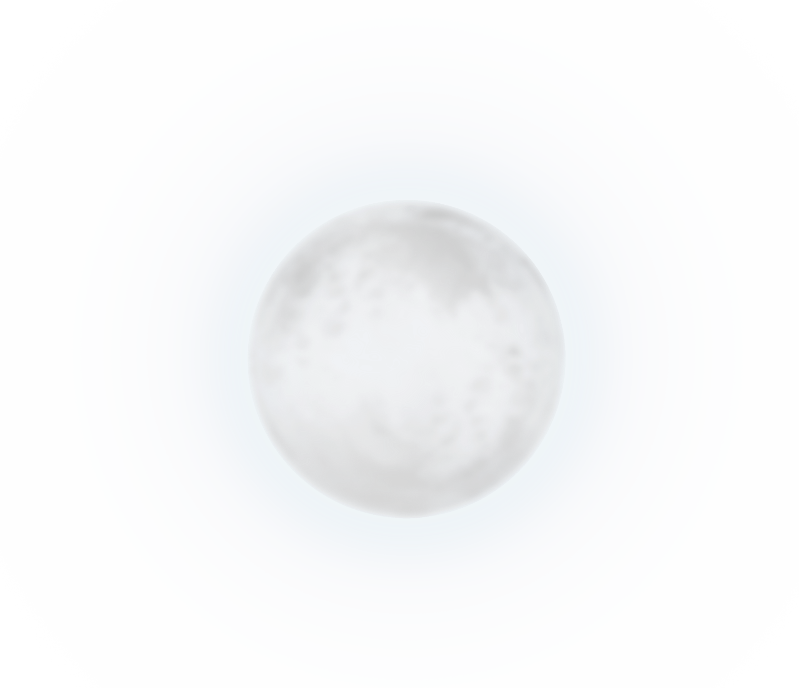 White Moon PNG Clipart Picture.