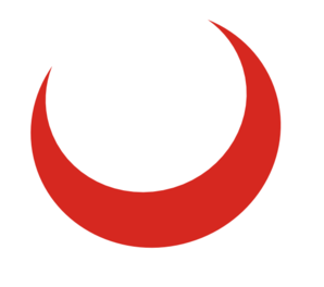 Moon Clipart Red Png.