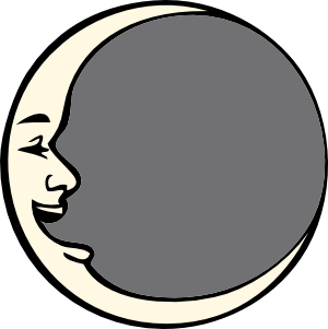 Man In The Moon clip art Free Vector / 4Vector.