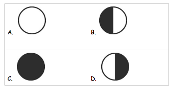 Moon Phases Clipart.