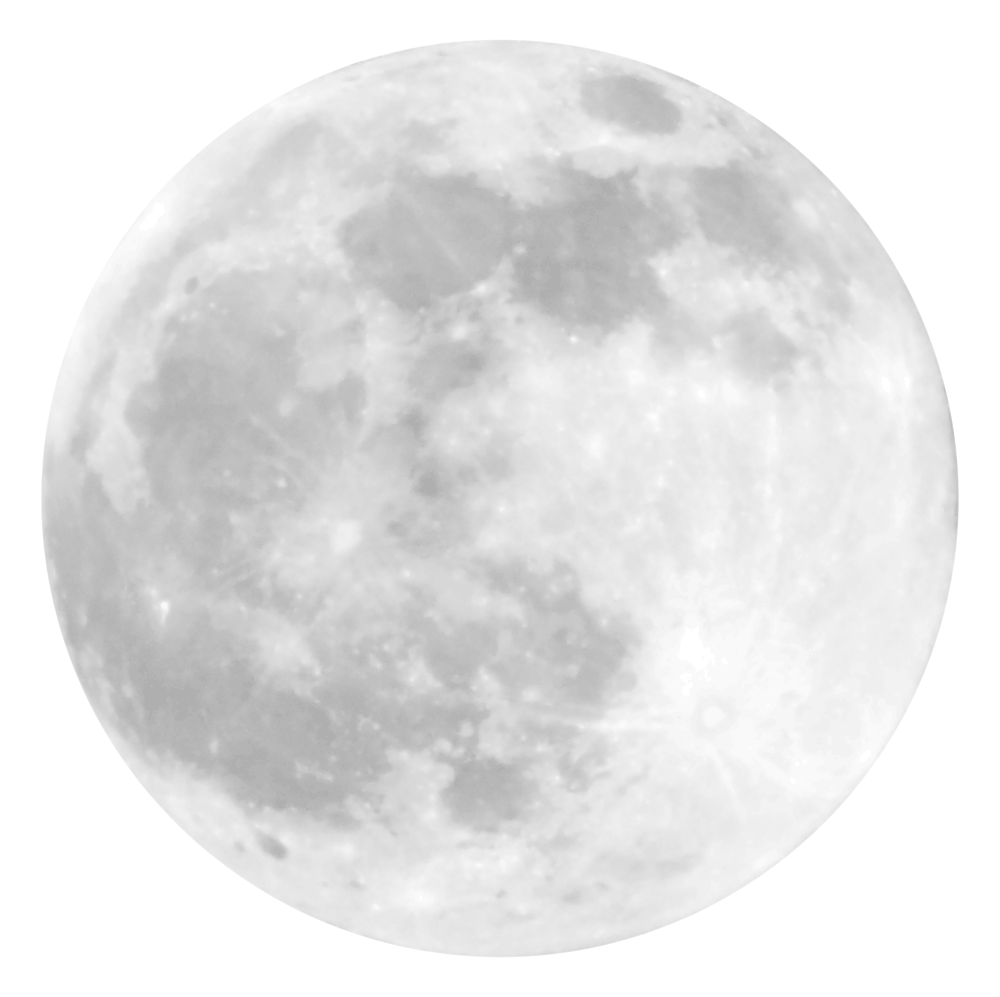 Moon Png images collection for free download.