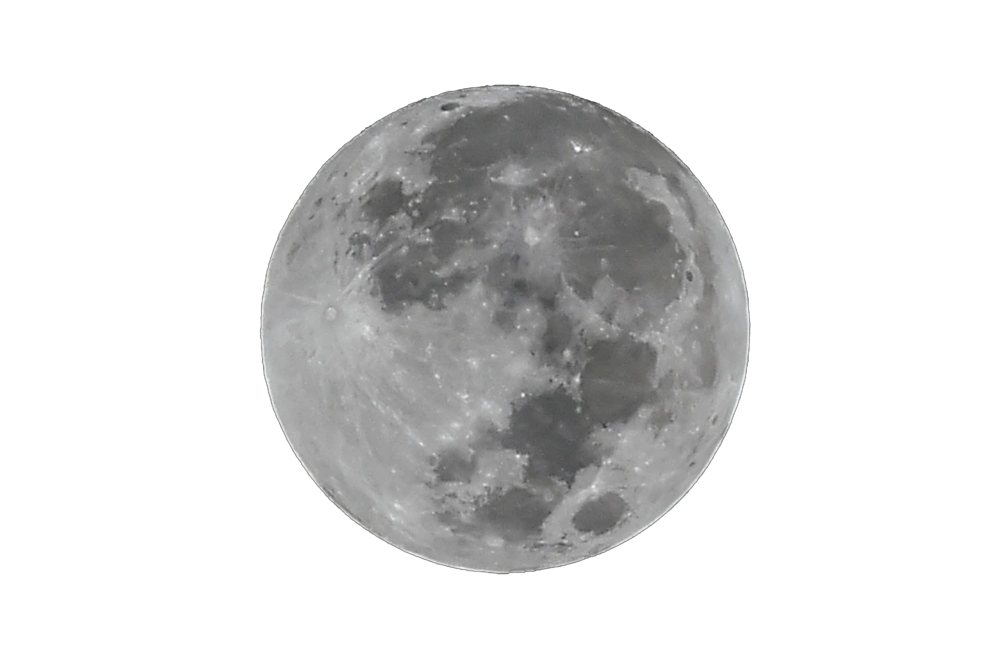Moon Png File.