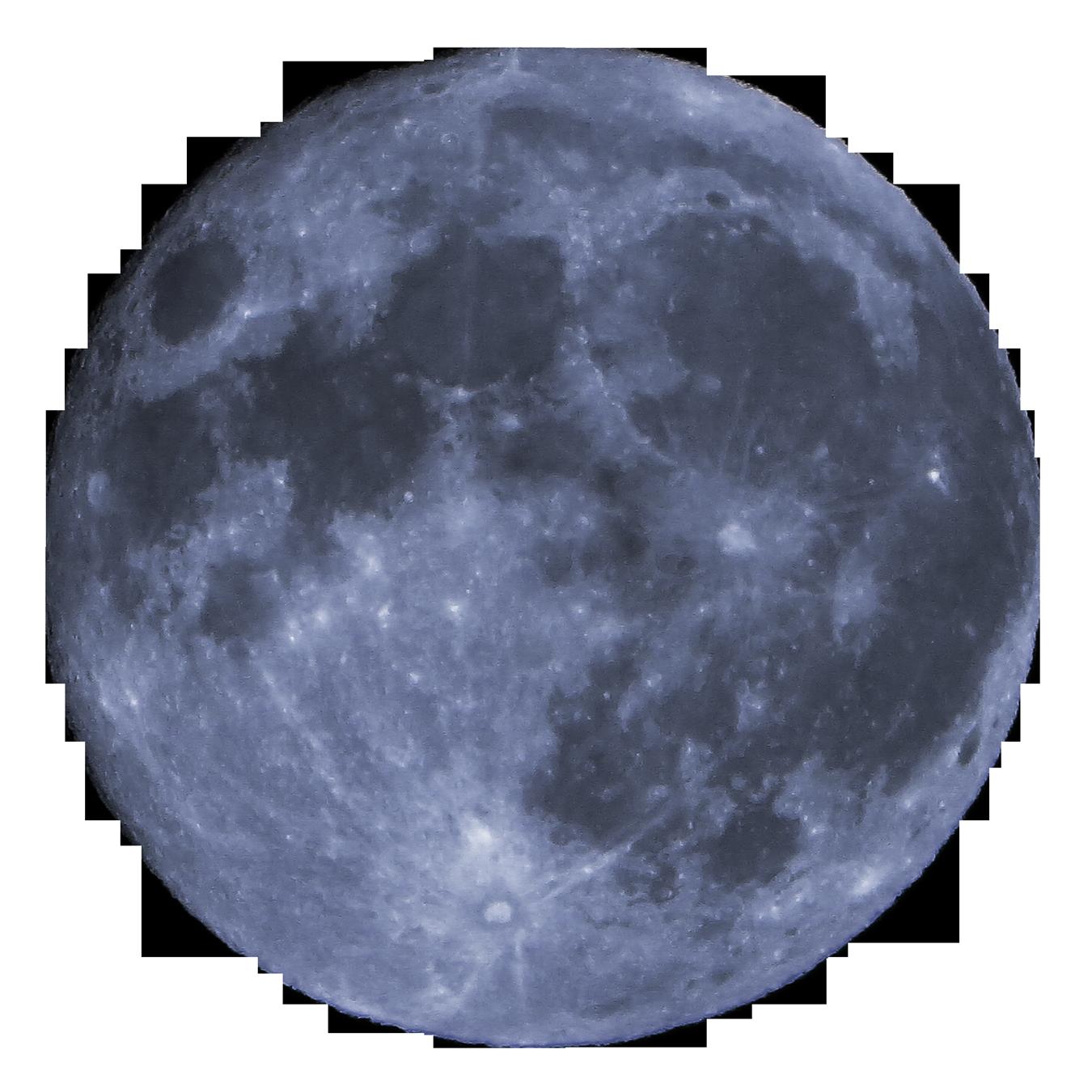 Supermoon Full moon.
