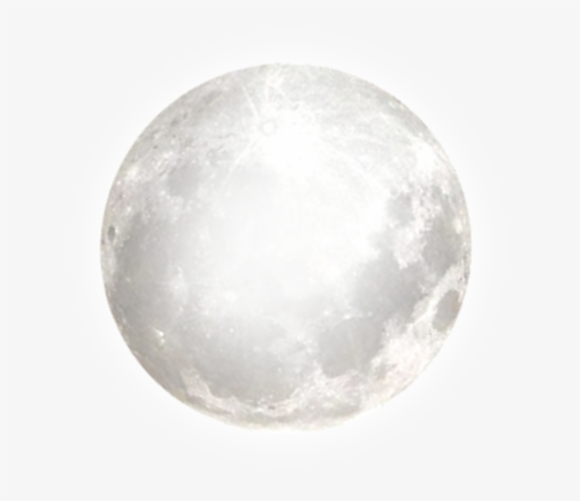 Full Moon Transparent Clipart.