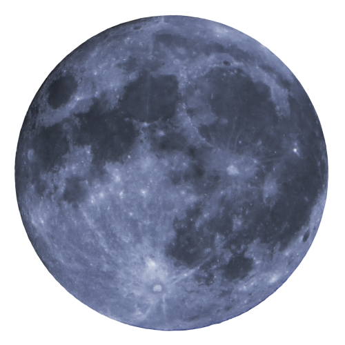 Moon PNG Transparent Image.