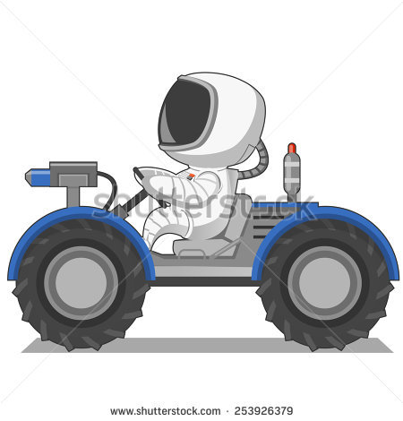 Lunar Rover Stock Images, Royalty.