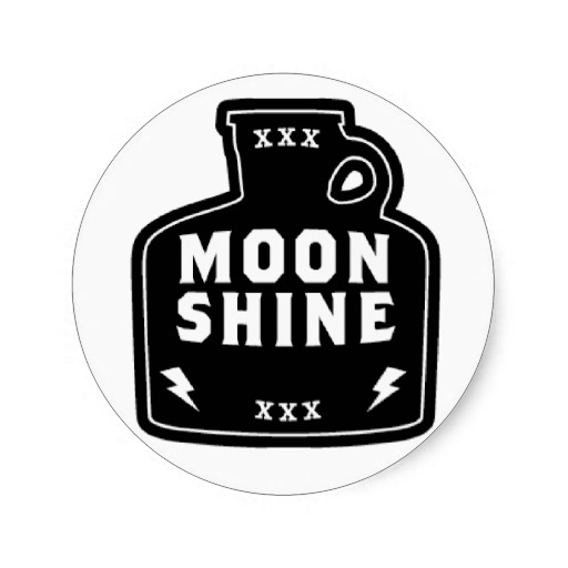Moonshine jug clip art.