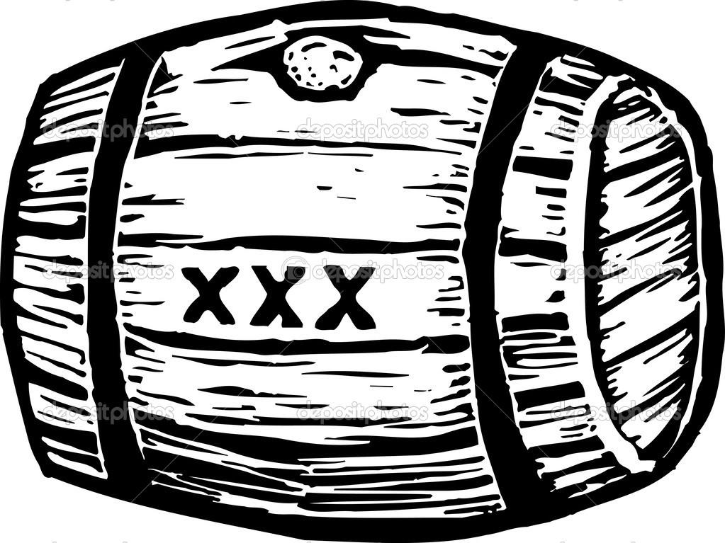 Barrel of Moonshine — Stock Vector © ronjoe #30502141.